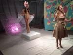 """Delicate"" installation with opera singer Giovanna Saldana"